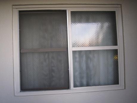 団地の窓?