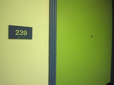 2階の角部屋