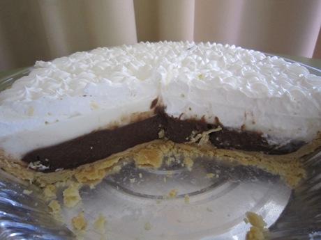 チョコレートハウピアパイ