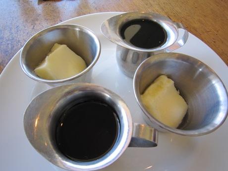 シロップとバター