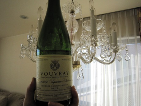 シャンパン1本目