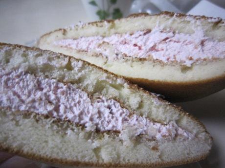 ピンクのクリーム