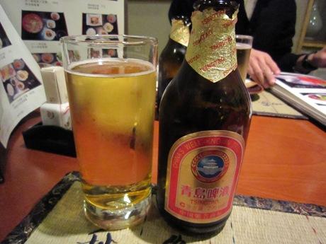 でも、青島ビール!