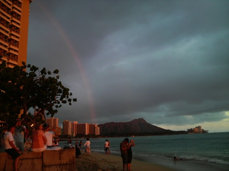 ハワイのサンセットー2