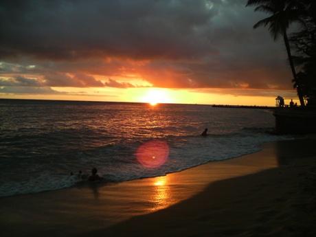 ハワイのサンセットー3