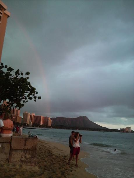 ハワイのサンセットー4