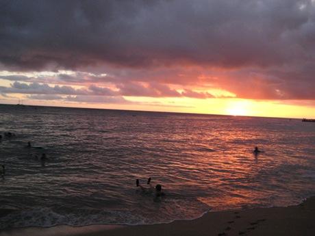 ハワイのサンセットー6