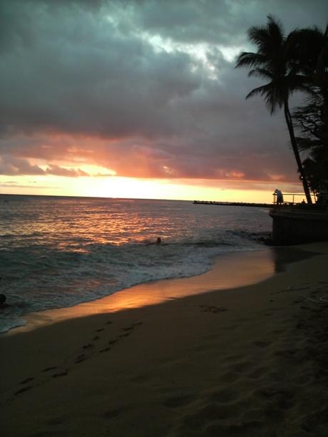 ハワイのサンセットー5