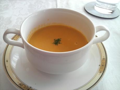 にんじんとかぼちゃのスープ