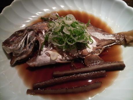 鯛が美味しい