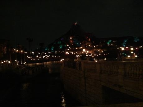 夜が綺麗です