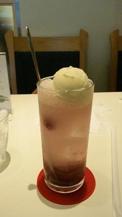 ブルーベリーソーダ