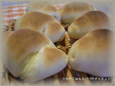 チーズ巻きこみロールパン