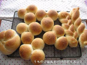 残りのパンは 色々