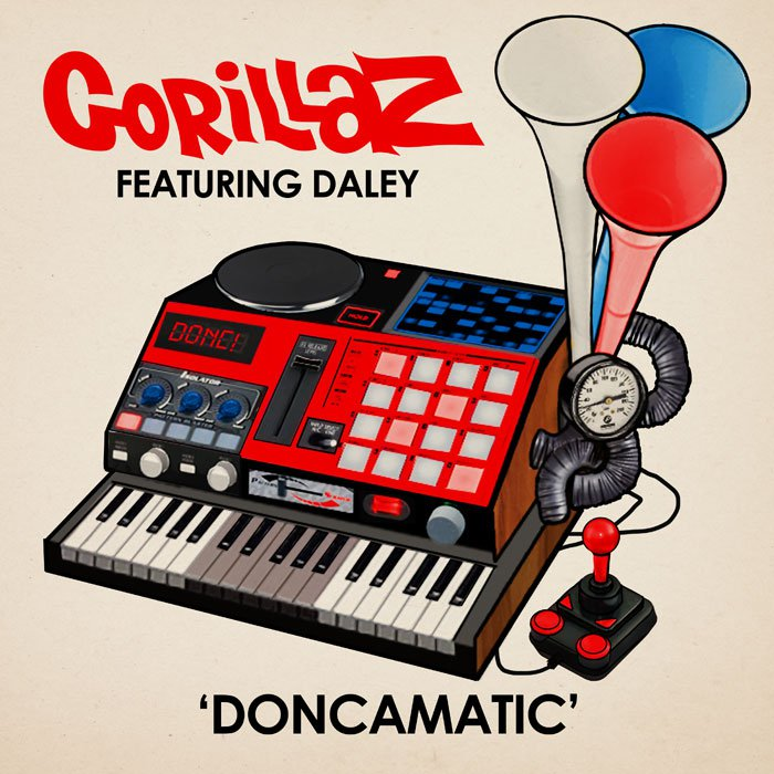 Gorillaz - Doncamatic Ft. Daley