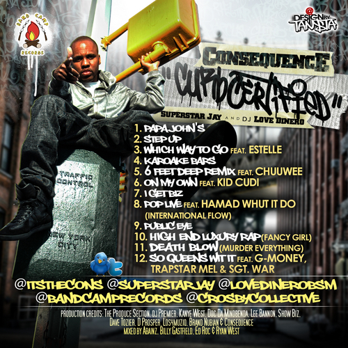 Consequence - Curb Certified [Mixtape]2