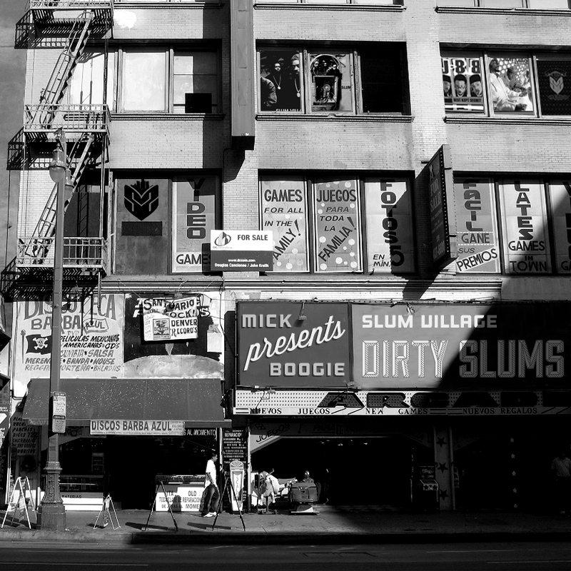 Slum Village & Mick Boogie - The Dirty Slums