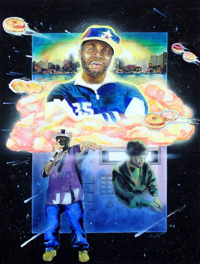 Official International J Dilla Tribute Art Contest3