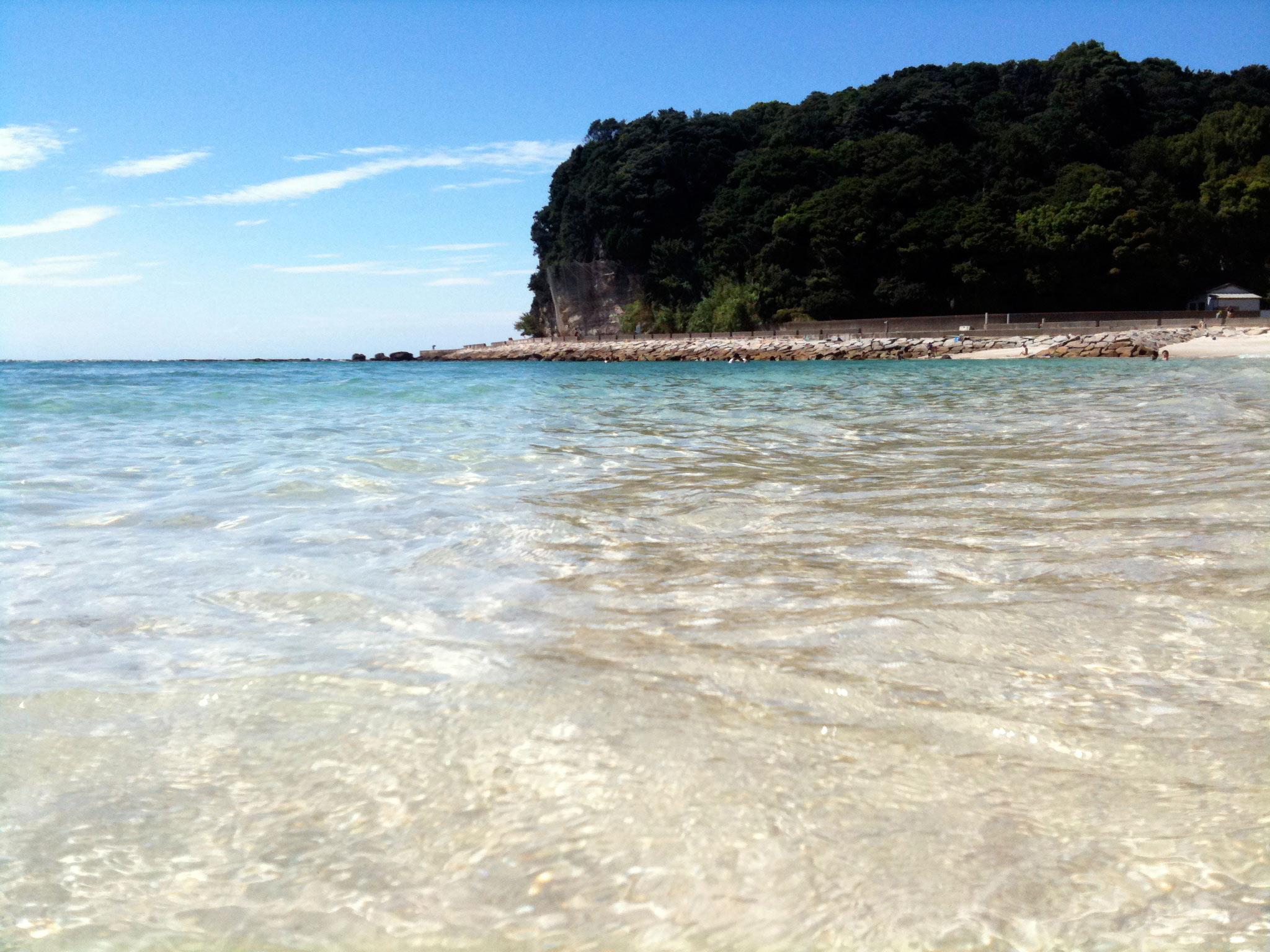 白砂エメラルドな海....白浜白砂エメラルドな海....白浜