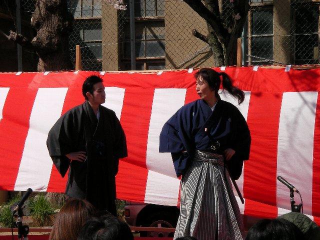 高瀬川桜まつり005