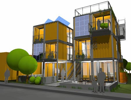- Shipping container home plans and drawings ...
