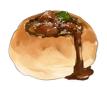 食:ビーフシチュー