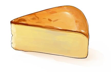 食:チーズケーキ