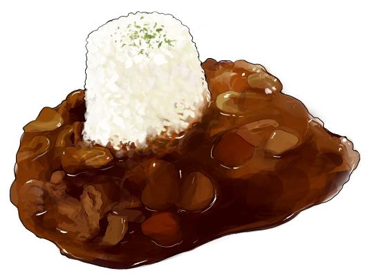 食:ハッシュドビーフ