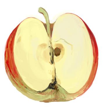 食:りんご
