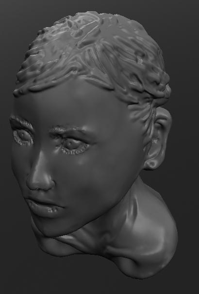 3D:女性ナナメ上