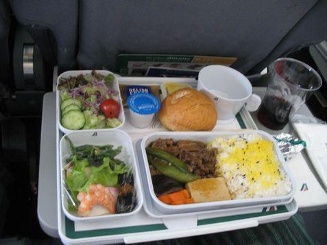 アリタリアの機内食2