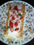 櫻誕生日ケーキ