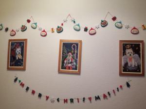 クリスマス・玄関飾り