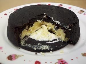 真っ黒チーズケーキ 2