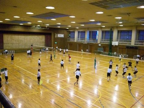 高校体育館
