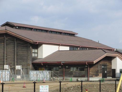 木造の体育館