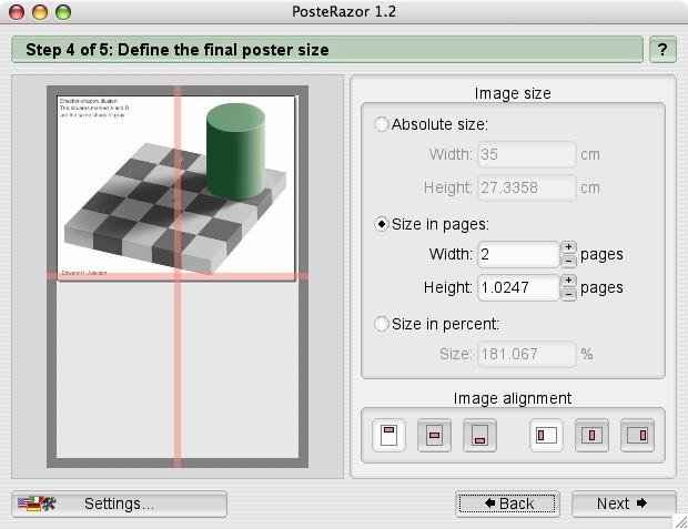 mac pdf ポスター印刷
