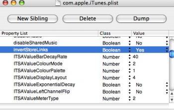iTunesの.plistファイルを編集