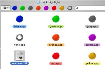 quick highlight