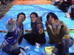 2004/03/28花見の席(写真左)