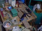 彫金教室準備