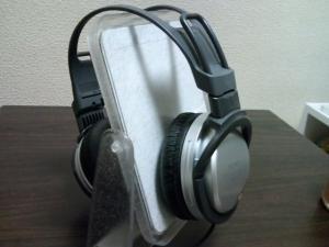 SONYのヘッドホン(MDR-XD100)