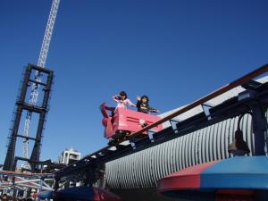 ブログ用東京ドーム遊園地