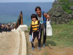 ブログ用沖縄 青の洞窟4