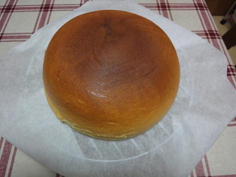 お釜でチーズケーキ♪