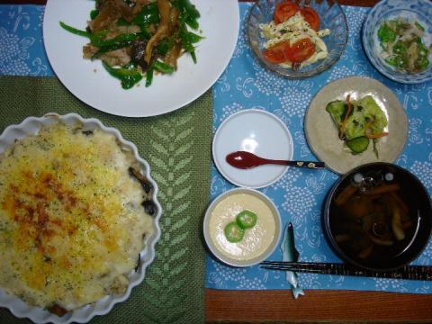 2010 10 14 今日の夕食