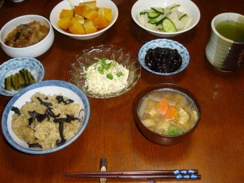 今日の夕食ベジタリアン.jpg