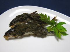 2011 07 05 ハヤ山椒味噌焼き