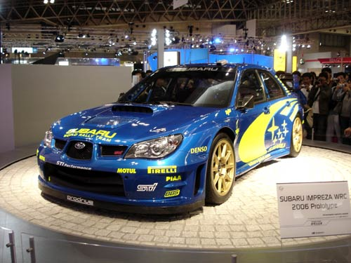スバル インプレッサWRC2006 ...