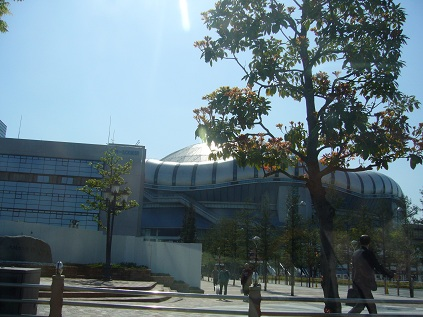 京セラドーム!